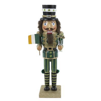 Irish Christmas - Irish Wooden Nutcracker