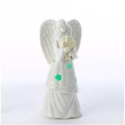 Irish Christmas - Shamrock Angel Tabletop LED Light