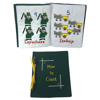 How to Count Irish Cloth Book