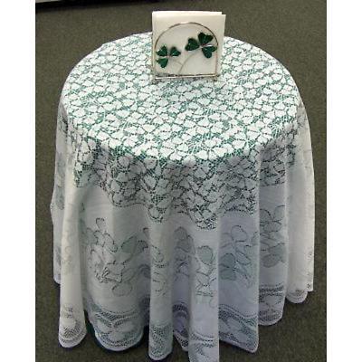 Shamrock Lace Tablecloth