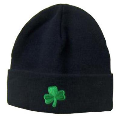Shamrock Knit Hat - Adult