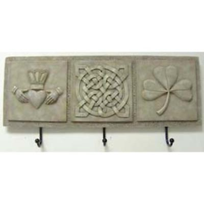 Irish Wall Plaque with Hooks