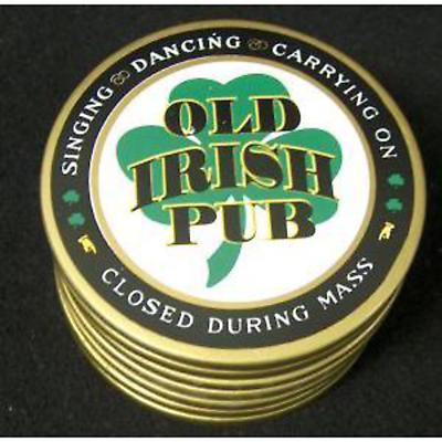 Old Irish Pub Coasters