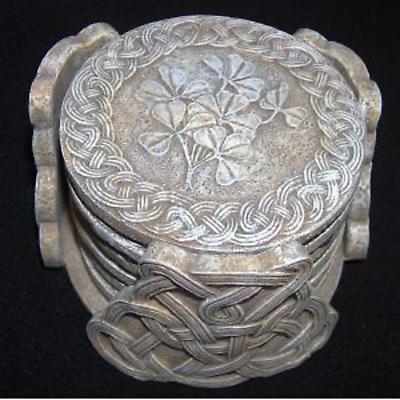 Celtic Shamrock Coasters