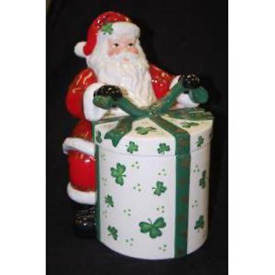 Irish Christmas - Irish Santa Cookie Jar
