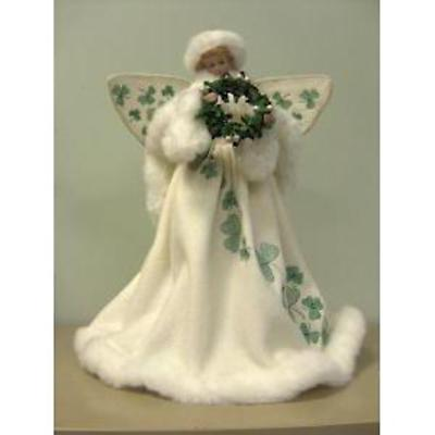 Irish Christmas - Irish Angel Shamrock Tree Topper