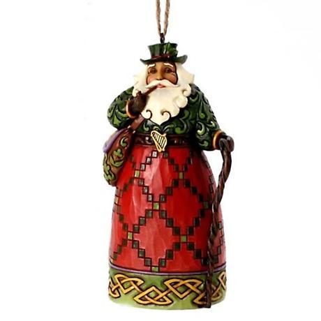 Irish Christmas - Irish Santa Ornament