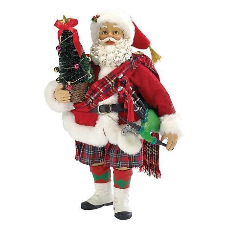 Irish Christmas - Musical Scottish Santa