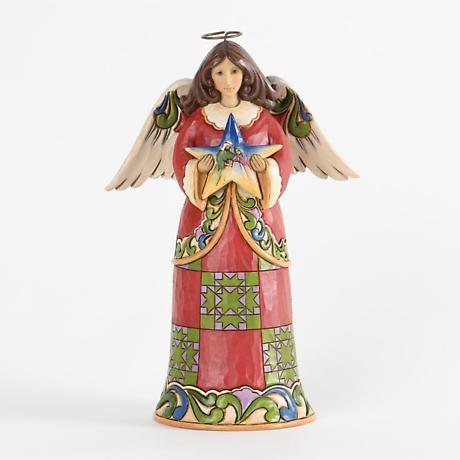 Irish Christmas - Irish Christmas Angel with Nativity Star