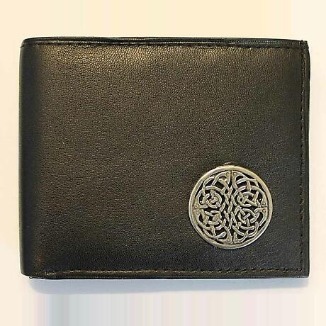 Irish Wallet - Brigid Knot Leather Wallet