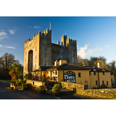 Bunratty Castle and Durty Nellies Photographic Print