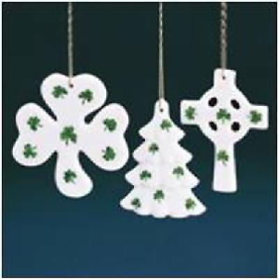 Irish Christmas - Irish Porcelain Ornaments - Set of 3