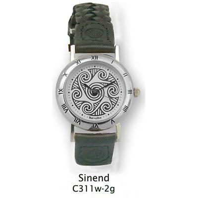 Celtic Watch - 'Sinend' Celtic Spirals Watch