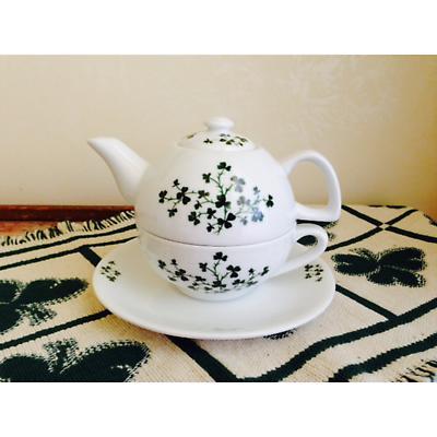 Shamrock Tea-for-One