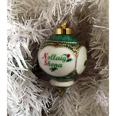 Irish Christmas Ornament - Nollaig Shona Ornament