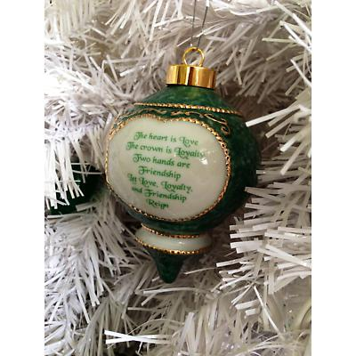 Irish Christmas Ornament - Claddagh Ornament