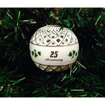 Irish Ornament - 25th Anniversary Ornament