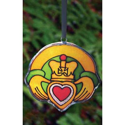 Irish Christmas - Irish Claddagh Ring Ornament
