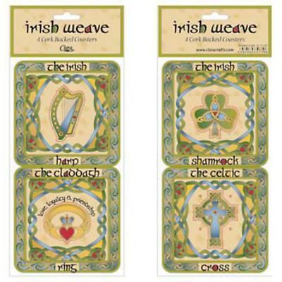 Celtic Coasters - Set of 4