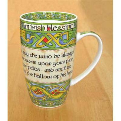 Set of Four Irish Blessing Mugs