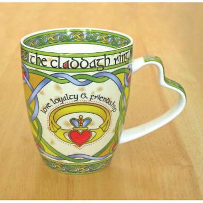 Set of Four Claddagh Mugs