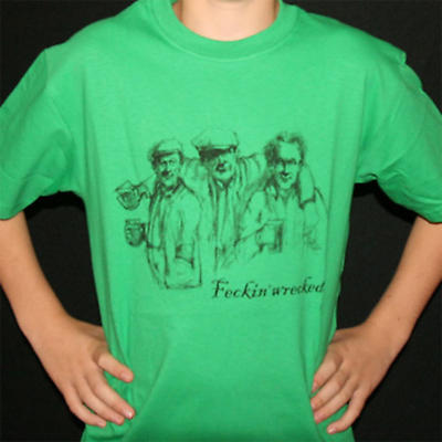 Irish T-Shirt - Feckin Wrecked
