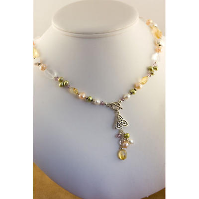 Irish Necklace - A Touch of Spring Necklace