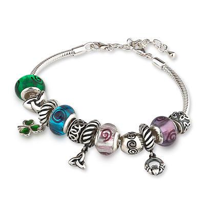 Symbols of Ireland Bracelet