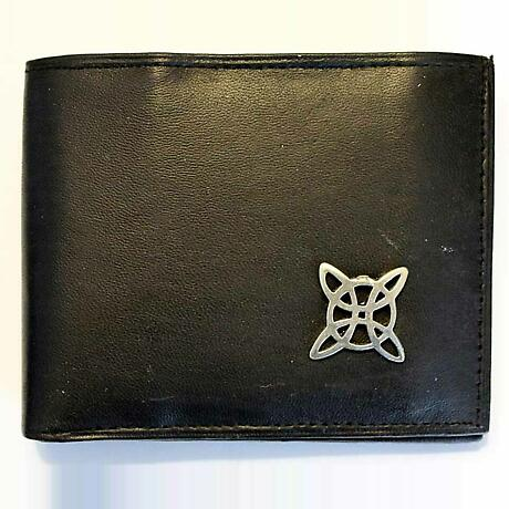 Irish Wallet - Celtic Knot Trinity Leather Wallet