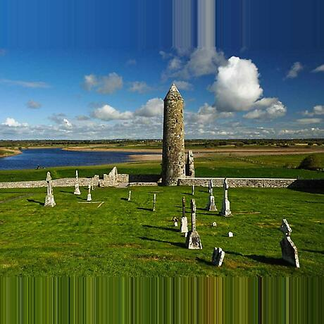 Clonmacnoise. Co Offaly Photographic Print