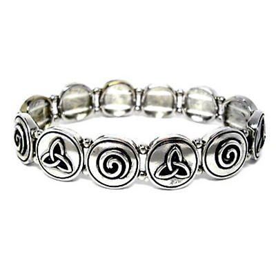 Irish Symbols Stretch Bracelet