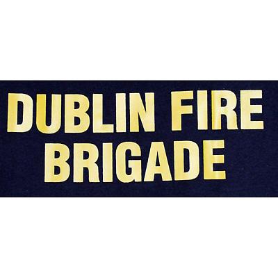 Irish T-Shirt - Dublin Fire Brigade T-Shirt