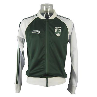Irish Jacket - Green Ireland 3 Shamrock Track Jacket