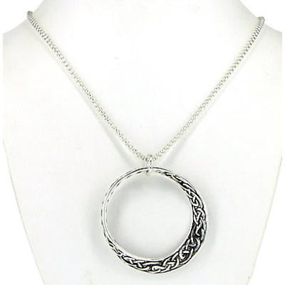Celtic Necklace - Celtic Knot Mobius Necklace