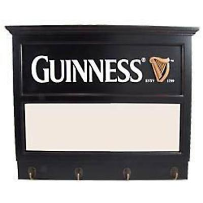 Guinness Plaque with Mirror and Hooks