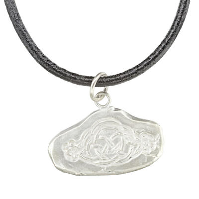 Celtic Pendant - Handcrafted Celtic Design Stering Silver Irish Necklace