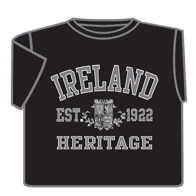 Ireland Heritage T-Shirt - Black
