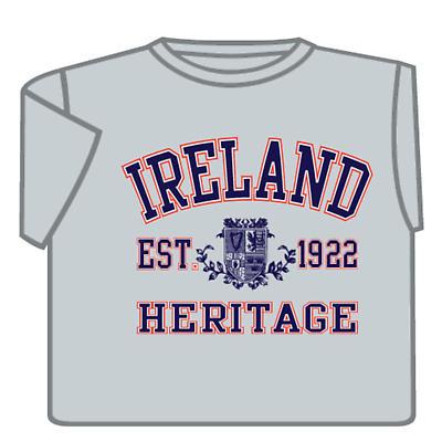 Ireland Heritage T-Shirt - Grey