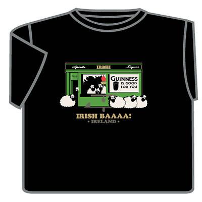 Irish T-Shirt - Irish Baaaa!
