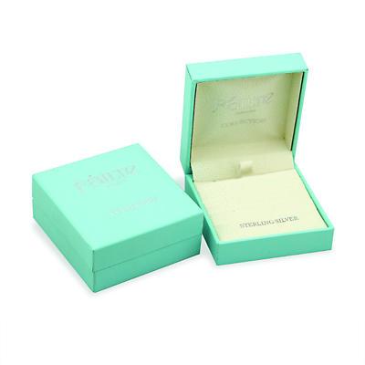 Trinity Knot Earrings - Sterling Silver Cublic Zirconia Drop Irish Earrings