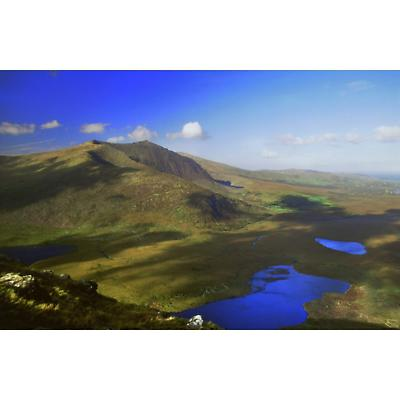 From the Conor Pass, Dingle Peninsula Photographic Print