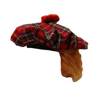 St. Patrick's Day Clothing - Irish Tam Cap - Red