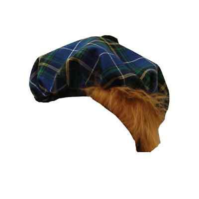 St. Patrick's Day Clothing - Irish Tam Cap - Blue