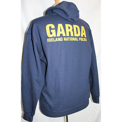 Irish Sweatshirt - Garda Irish Police Hooded Sweatshirt