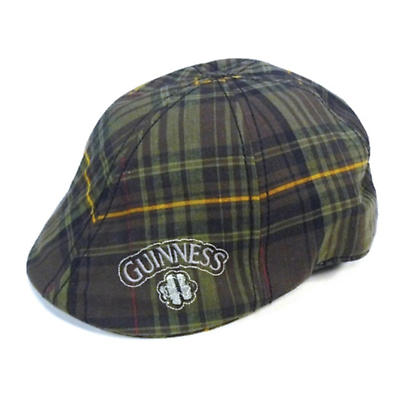 Guinness Plaid Ivy Cap