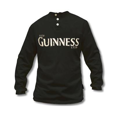 Guinness Henley Long Sleeve Shirt