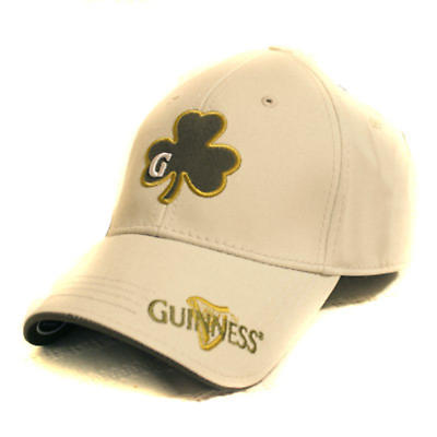 Guinness Beige Shamrock Fitted Cap