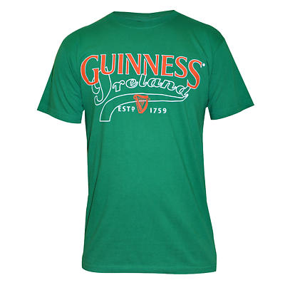 Guinness Shirt - Kelly Green Guinness Ireland Irish T-Shirt