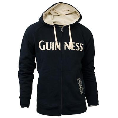 Guinness Classic Black & Cream Hoodie Sweatshirt