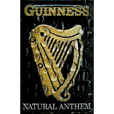 Guinness Metal Natural Anthem Sign